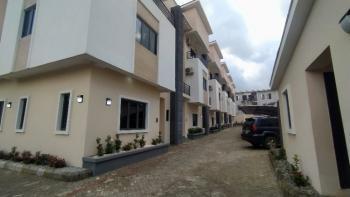 Newly Built Standard 4 Bedroom Terraced Duplex 24 Hours Power with Bq, Guzape District, Abuja, Terraced Duplex for Rent