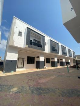 Newly Built 4 Bedroom Terrace Duplex with B.q, Ajah, Lekki, Lagos, Terraced Duplex for Sale