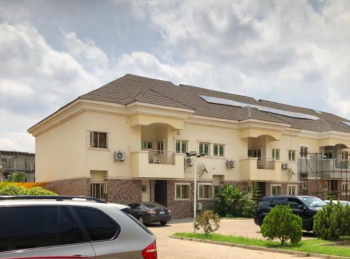 a Corner Piece 4 Bedroom Terrace Duplex with 2 Large Sitting Rooms, By American International School, Durumi, Abuja, Terraced Duplex for Sale