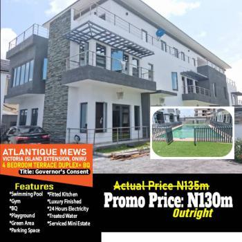 Governors Consent, Oniru, Victoria Island Extension, Victoria Island (vi), Lagos, Detached Duplex for Sale
