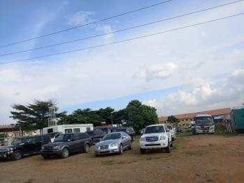 Fantastic 7128sqm Filling Station Plot, Next Plot After Total Filling Station Before N N P C Filling Station, Jahi, Abuja, Commercial Land for Sale
