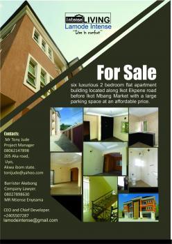 Apartment Building 6 Flats of 2bedrooms 2baths, Ikot Ekpene Road, Uyo, Akwa Ibom, Flat / Apartment for Sale
