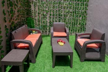 Fully Furnished 4 Bedroom Terrace House with a Room Staff Quarter, Off Oniru Palace Road, Oniru, Victoria Island (vi), Lagos, House Short Let