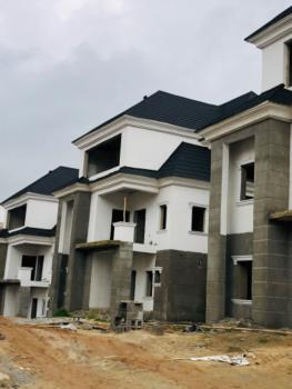 Spacious 5 Bedroom Detached Duplex with Bq a Semi Finished Stage, Guzape District, Abuja, Detached Duplex for Sale