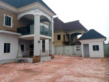 Newly Built 4 Bedroom Duplex with Detached Bq, International Cards Behind Bovas Filling Station, Oluyole, Oyo, Detached Duplex for Sale