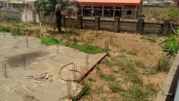 Fenced 3 and Half Plots of Land with a Foundation (dpc) in It, Ogbaga Road, Kpiri-kpiri, Abakaliki, Ebonyi, Mixed-use Land for Sale