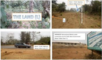2 Plots of Land, Ondo Road, Akure, Ondo, Mixed-use Land for Sale