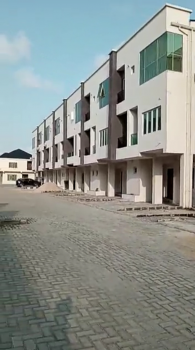 Beautifully 2 Bedrooms Terraced Duplex with Bq Apartment Carcass, New Horizons 2 Extension Estate, Ikate, Lekki, Lagos, Terraced Duplex for Sale