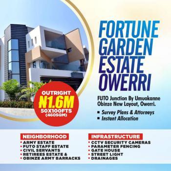 a 100% Dry Land in a Strategic Location, Obinze Futo, Obinze, Owerri Municipal, Imo, Mixed-use Land for Sale