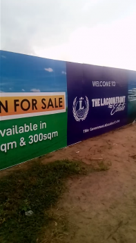 Land with Property Title in Strategic Place, Lagoon Front Estate, Behind The International Airport, Epe, Lagos, Mixed-use Land for Sale