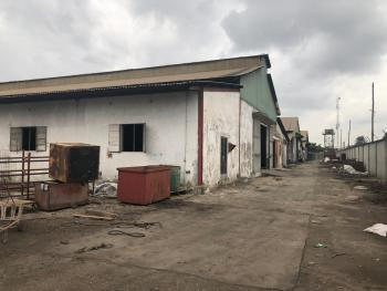 a Well Positioned & Strategical 3 Acres Commercial Land with Warehouse, Oba Akran, Ikeja, Lagos, Commercial Land for Sale