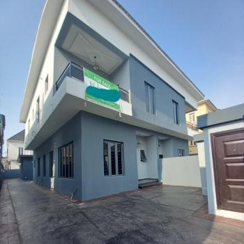 Spacious 4 Bedrooms Semi-detached Duplex with Detached Bq, Off Lekky County Road, Lekki, Lagos, Semi-detached Duplex for Sale