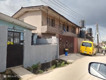 Decent Block of 2 Units Flats, Moshalashi Street, Ifako, Gbagada, Lagos, Block of Flats for Sale
