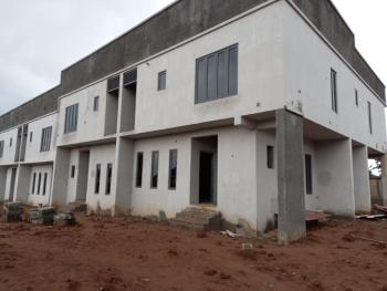 Newly Built 4 Bedroom Terrace House with Boys Quarter, Life Camp, Abuja, Terraced Duplex for Sale