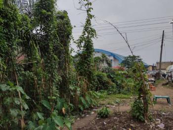 Beautiful Fenced Land at Major Intersection, Nwaniba Road, Opp. Power City Church, Uyo, Akwa Ibom, Land for Sale