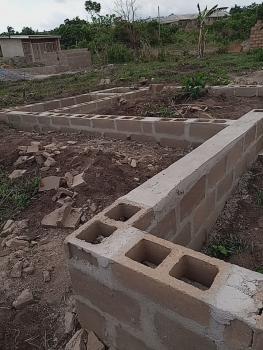 Half Plot of Land with Foundation on It, 15, Ogushi Estate Oluke Town Ijoko Road Sango Otta, Ijoko, Ogun, Residential Land for Sale