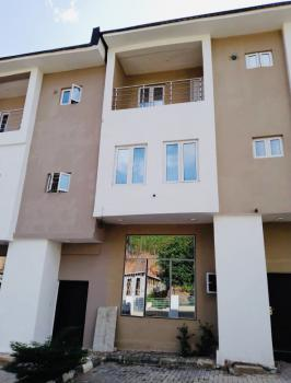 Exquisitely Newly Built 4 Bedroom Terraced Duplex with a Room Bq, Guzape District, Abuja, Terraced Duplex for Rent