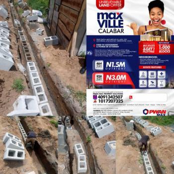Plot of Land in Max Villa, Ebiet Okon Archibong Village, Off Mcc Road, Ayanganse., Calabar, Cross River, Mixed-use Land for Sale