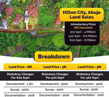 Hilton City, Hilton City Abuja, Asokoro District, Abuja, Residential Land for Sale