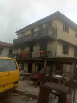 a Dry Land of Two Plots with Demolishable 2 Storey Building., Agege Motor Road Idi Oro., Mushin, Lagos, Mixed-use Land for Sale