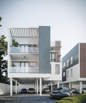 Nottingham Court Luxury 3-bedroom Penthouse (with Bq), Ocean Bay Estate, Along Orchid Road, Off Eleganza Bus Stop, Lekki, Lagos, Flat / Apartment for Sale