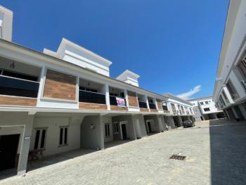 Elegantly Built 4 Bedroom Terrace Duplex with 1 Room Bq, Lekki, Lagos, Terraced Duplex for Sale