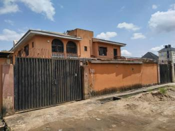 Solid Block of Flats of 1 Unit 3 Bedroom, 2 Unit of 2 Bedroom Flats & Large Space, Alh.agbeke, Ago Palace, Isolo, Lagos, Block of Flats for Sale
