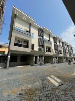 Newly Built 4 Bedroom Terrace Duplex with B.q, Lekki Phase 1, Lekki, Lagos, Terraced Duplex for Sale