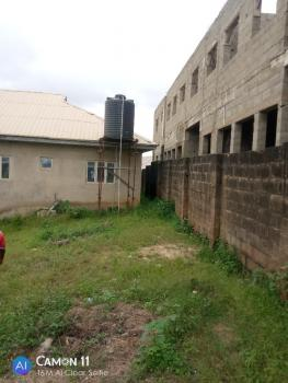 a Well Fenced  2 Plots of Land with 1 Unit 4bedroom Flat & 1 Mini Flat, Olowofela, Magboro, Ogun, Block of Flats for Sale
