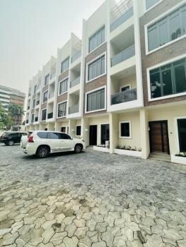 Luxury  and Serviced 5 Bedrooms Terrace House, Off Adeola Odeku Road, V.i, Victoria Island (vi), Lagos, Terraced Duplex for Rent