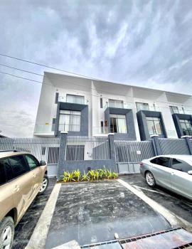 Top Luxury Smart 4 Bedrooms Semi-detached with a Room Bq, Lekki Phase 1, Lekki, Lagos, Semi-detached Duplex for Sale