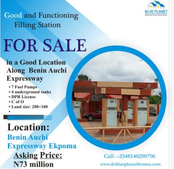 a Good and Functionary Filling Station with 7 Pumpes, Benin Auchi Expressway, Ekpoma, Esan West, Edo, Filling Station for Sale