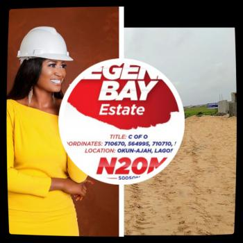 Land with Certificate of Occupancy, Okun-ajah Along Abraham Adesanya Road, Ogombo, Ajah, Lagos, Mixed-use Land for Sale