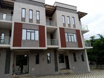 Luxurious 4 Bedrooms Terrace Duplex with Bq, Off Guaranty Trust Bank Street, Jabi, Abuja, Terraced Duplex for Sale