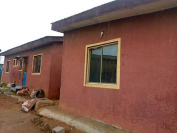 Lovely Bungalow of 3 No of Mini Flat on More Than Half Plot of Land, White House, Abule Egba, Agege, Lagos, Detached Bungalow for Sale