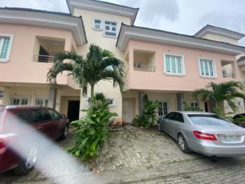 Spacious 3 Bedroom Terrace, Osborne Phase 2, Osborne, Ikoyi, Lagos, Terraced Duplex for Rent
