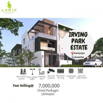 an Estate Fenced and Gated in Beautiful Location, Awoyaya, Ibeju Lekki, Lagos, Residential Land for Sale