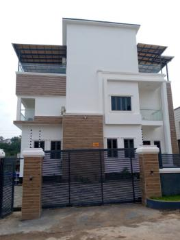 Luxury 5 Bedrooms Mansion with 3 Sitting Rooms, Swimming Pool, Elevator, Coza, Guzape District, Abuja, Detached Duplex for Sale