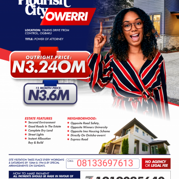 Land in Owerri with Power of Attorney As Title Document, Ogbaku, Mbaitoli, Imo, Mixed-use Land for Sale