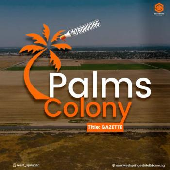 100% Dry Land in Orofun Town Eleko Ibeju-lekki with Gazette, Palm Colony Estate, with Instant Allocation, Eleko, Ibeju Lekki, Lagos, Residential Land for Sale