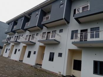 Luxury Brand New 6 Units of 4 Bedroom Terraced Duplex with Bq, By Coza Church, Guzape District, Abuja, Terraced Duplex for Sale