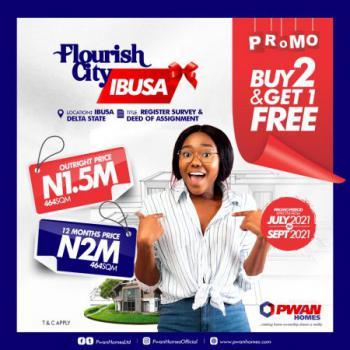 Promo Promo. Buy 2 Plots Get 1 Free, Flourish City Estate, Ibusa, Opposite Admiralty University, Asaba, Delta, Mixed-use Land for Sale