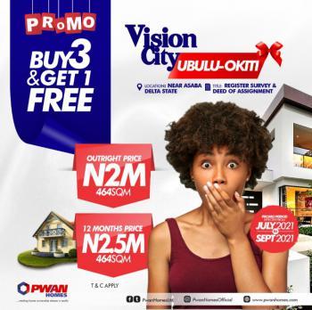 Promo Promo. Buy 3 Plots and Get 1 Free, Ubulu Okiti, Asaba, Delta, Mixed-use Land for Sale