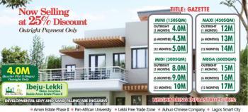 Residential Land , 600sqm, Junction Beside Amen Estate, Eleko, Ibeju Lekki, Lagos, Residential Land for Sale