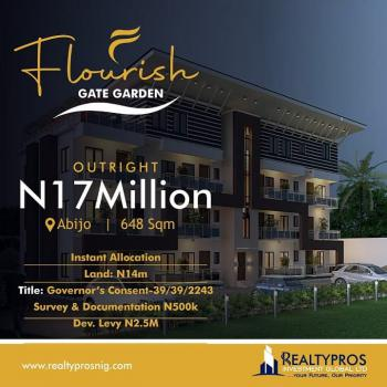 a Buy and Build Estate Selling, Few Minutes From Novare Mall, Abijo, Lekki, Lagos, Residential Land for Sale