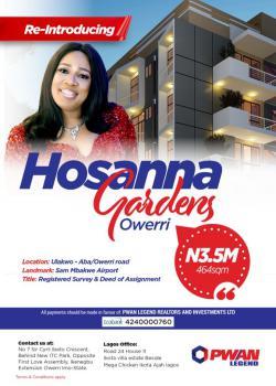 Invest Now, Ulakwo, Along Aba/ Owerri Road  Hosanna Gardens, Owerri North, Imo, Mixed-use Land for Sale