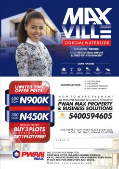 Own a Plot of Land Today, Max Ville, Ode Omi, Ibeju Lekki, Lagos, Mixed-use Land for Sale