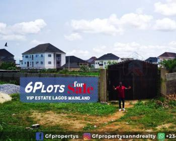 Affordable Buy and Build Landed Properties in an Estate, Boystown, Alimosho, Lagos, Mixed-use Land for Sale