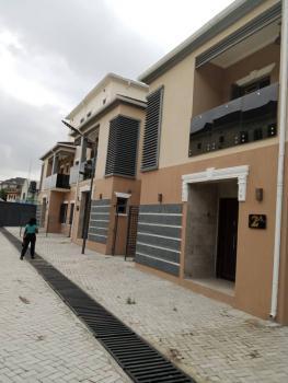 Well Finished Brand New 4 Nos 4-bedroom Terrace Houses with Bq, Tejuosho Estate Off Allen Avenue, Behind Old Slade Market, Allen, Ikeja, Lagos, Terraced Duplex for Rent