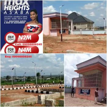 Special Land Offer, Max Height, Asaba, Delta, Mixed-use Land for Sale
